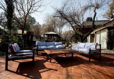fauteuil salon de jardin