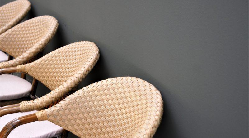 chaise tressée